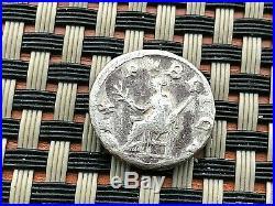 Roman Empire Pupienus 238 Ad Ar Denarius Pax Pvblica Ancient Roman Coin
