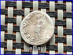 Roman Empire Silver Coin Of Otho As Caesar 69ad Ar Denarius Ancient Roman Coin