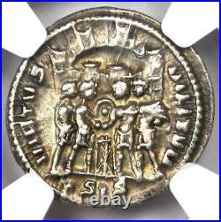 Roman Galerius AR Argenteus Silver Coin 305-311 AD Certified NGC Choice VF