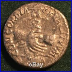 Roman Imperial Denarius Of Nerva Struck Sep-dec 96 Ad Concordia Ancient Coin Vf