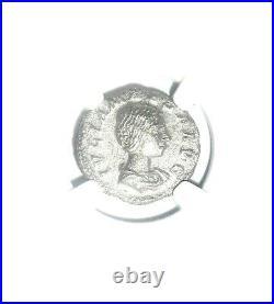 Roman Julia Maesa Antoninianus Silver Denarius Coin NGC Certified VF & Story