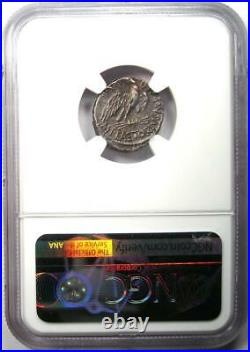 Roman M. Plaetor Mf. Cestianus AR Denarius Coin 67 / 57 BC Certified NGC XF
