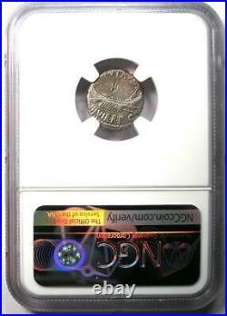 Roman Marc Antony AR Denarius Silver Galley Coin 30 BC Certified NGC VF