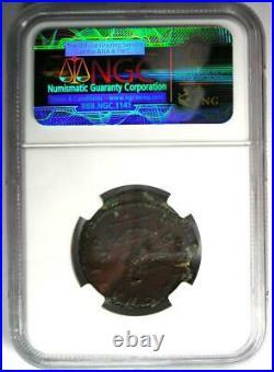 Roman Marcus Aurelius AE As Copper Coin 161-180 AD Certified NGC Choice VF