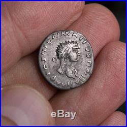 Roman Republic AR Denarius Celtic Barbarous Barbarian Barbaric Ancient rare coin