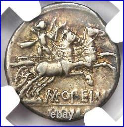 Roman Republic M. Opeimius AR Denarius Coin 131 BC Certified NGC Choice VF