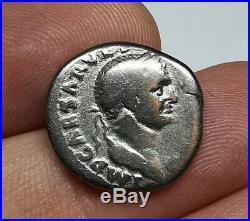 SCARCE Ancient Roman Imperial Vespasian Silver Denarius Coin JUDAEA CAPTA 70 AD