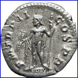 SEVERUS ALEXANDER 223AD Authentic Ancient Silver Roman Coin JUPITER i65083