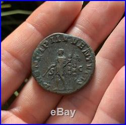 SHARP! Ancient Roman Coin Sestertius MAXIMUS Caesar 236AD Standards RIC13 19.4g