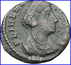 Saint HELENA Constantine the Great Mother Authentic Ancient Roman Coin i61583