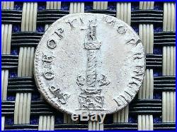 Silver Coin Of Trajan 97-117 Ad Ar Denarius Trajan's Column Ancient Roman Coin