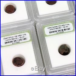 Slabbed Lot of 1000 Ancient Roman Bronze Coins Approximately c. 300 AD
