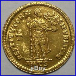 Solidus of Valentinian I 364-375 AD Antioch Mint Ancient Roman Gold Coin