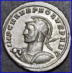 Ancient Roman Imperial Coin. Superb Probus Ae Silvered Antoninianus