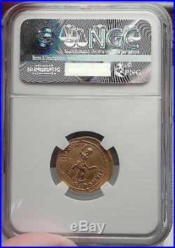 TIBERIUS 18-35AD Gold AV Aureus Authentic Ancient Roman Coin Livia SUPERB NGC XF