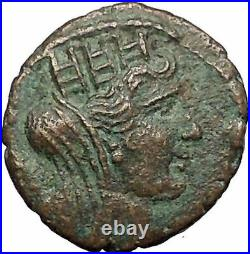 TYRE in PHOENICIA Roman Emperor Hadrian Time 131AD Ancient Greek Coin i57575