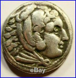 Tetradrachm Alexander III the Great 336-323 BC Ancient Greek Silver Coin