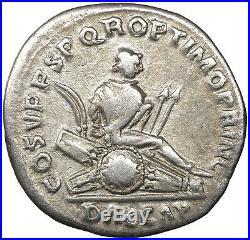 Trajan Denarius Silver Roman imperial Coin authentic Ancient Empire Rome #re112