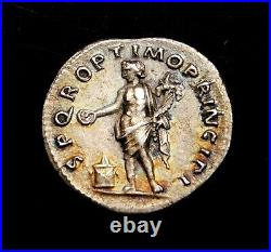 Trajan. Stunning Denarius circa AD 106-107. Ancient Roman Silver Coin