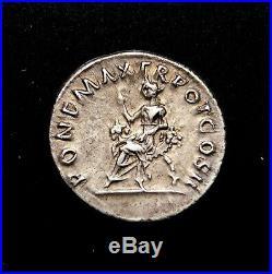 Trajan. Superb Denarius, circa AD 98-99. Ancient Roman Silver Coin