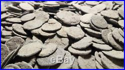 UNCLEANED ANCIENT ROMAN BRONZE COINS 150 coins 100% authentic