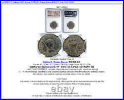 VALERIAN II Gallienus SON Ancient ANTIQUE Roman Triform HEKATE Coin NGC i90663