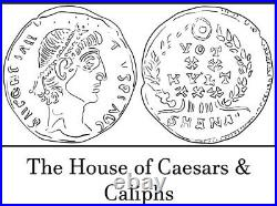 VERY RARE Guaranteed Authentic Ancient Roman Coin Septimius Severus Tetradrachm