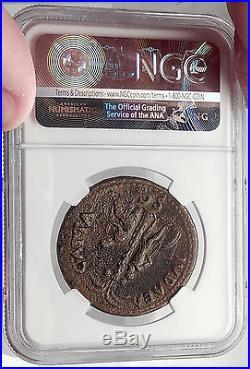 VESPASIAN 71 AD Jewish War JUDAEA CAPTA Sestertius Ancient Roman Coin NGC XFRare