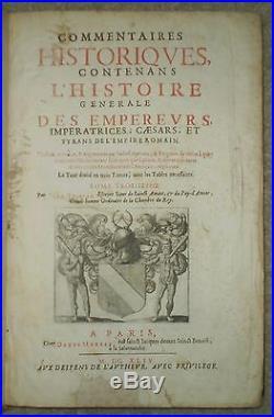 Very Rare, 1644, 1st, Folio, Tristan De Saint-amant, Coins, History Roman Empire