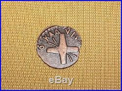 Vintage Ancient Constantine Roman Emperor Copper Coin