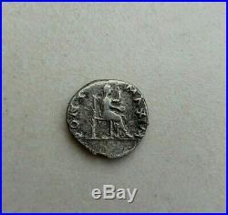 Vitellius Silver Denarius 69AD. Rome Mint. Ancient Roman Imperial Coin