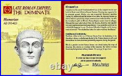Western Roman Emperor Honorius Coin NGC Certified AU, With Story, Certificate